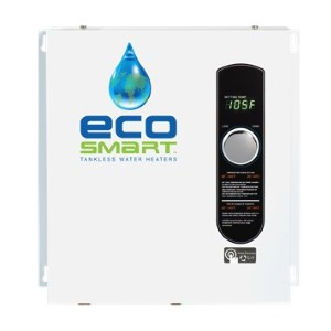 EcoSmart Eco 27 best electric tankless water heater
