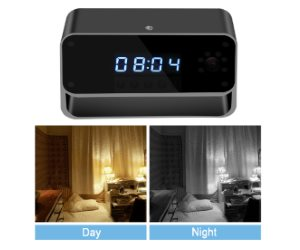 Facamword Hidden Camera WIFI Spy Camera Clock Review